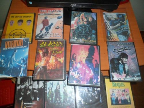 combo de dvds de musica