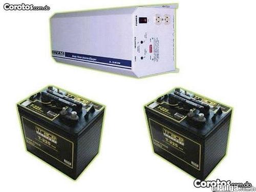 combo de inversor 1.8  mas baterias  whasaap 809 617 7451