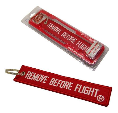 combo de llavero remove before flight, mini tag y boligrafo.