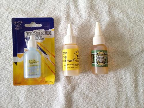 combo de mantenimiento paintball: lubricante y squeegee pr