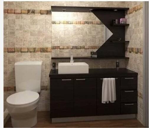 Combo De Muebles Para Baño Modernos Somos Fabricantes - Bs. 98.375 ...