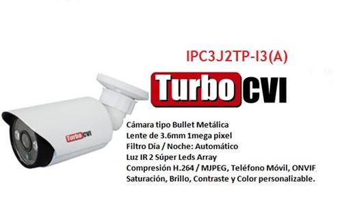combo de nvr dahua + 8 camaras ip rj45 turbo bullet domo 1mp