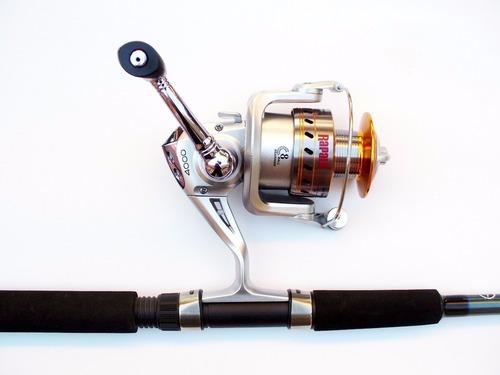 combo de pesca shimano fx 9 pies c+ reel rapala quillen 5000
