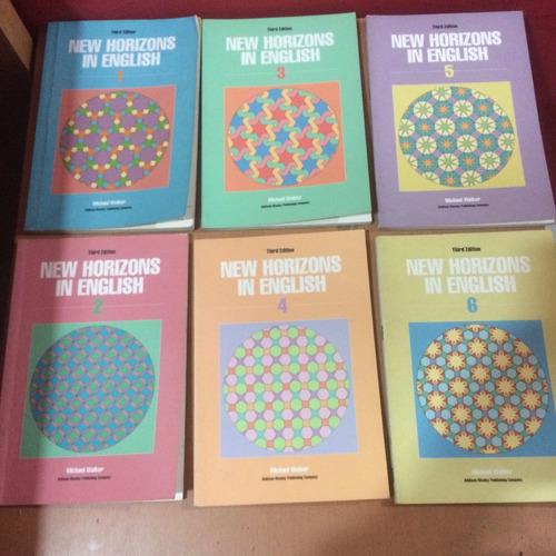 combo de seis libros en inglés, básicos