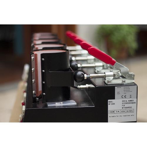 combo de sublimación plancha de taza 5 en 1 + impresora a4
