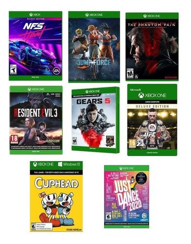 combo de tres juegos de xbox one offline al mejor precio!!