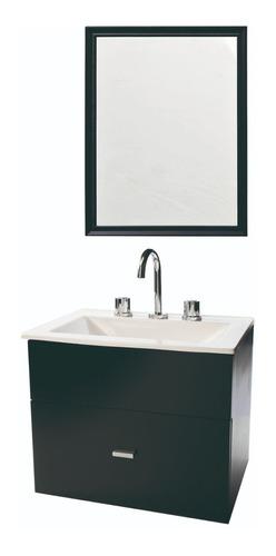 combo de vanitory 50cm griferia lavatorio espejo