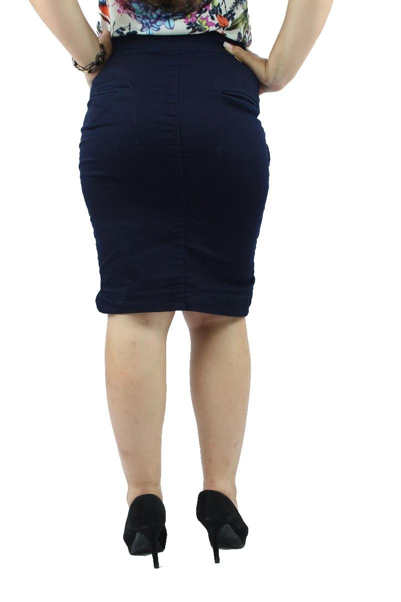 327ea2ae8 Combo De Vestido Jeans Azul + Saia Secretária Moderna Jeans - R$ 144 ...