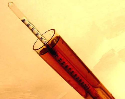 combo densímetro, probeta y termometro - cerveza artesanal