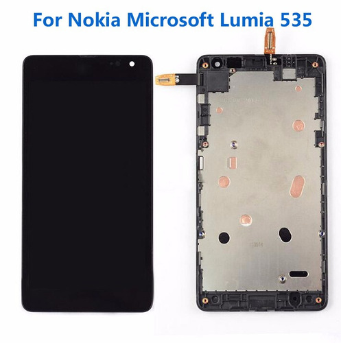 combo display touch cel nokia lumia 535 - preto