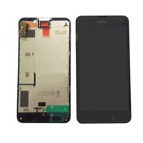combo display touch cel nokia lumia 630 635 979 - preto