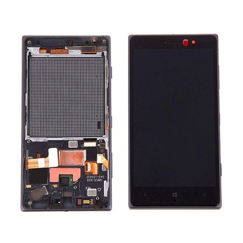 combo display touch cel nokia lumia 830 n830 - preto