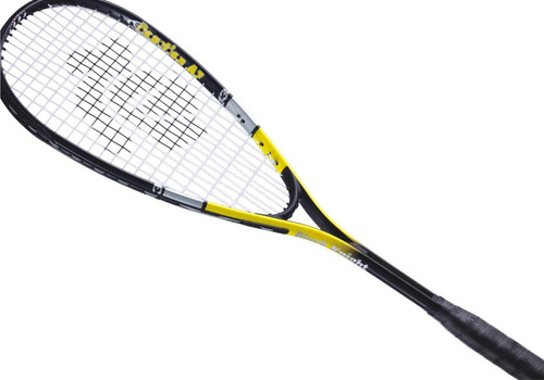 combo dos raquetas de squash black knight + pelota de regalo
