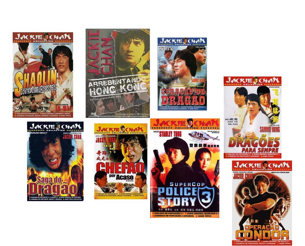 Dragões Para Sempre Top combo dvd jackie chan collection ( 8 filmes ) - r$ 140,00 em