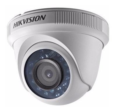 combo  dvr 4ch + 2 camaras domo tecnologia hikvision 720p hd