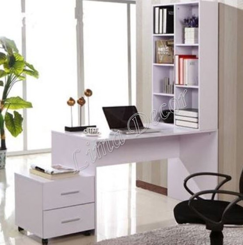 combo escritorio de melamina+estante+archivador+regalo!