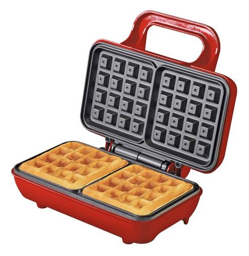 combo fabrica de wafles pochoclos y muffins ranser antiadher