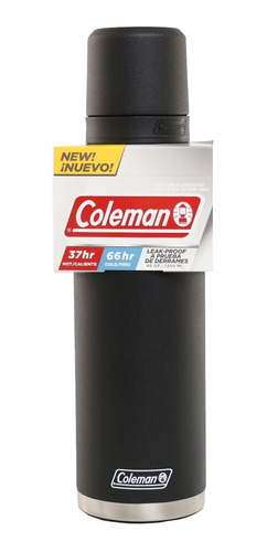 combo familiar coleman growler 1,9 + termo 1,2 + vaso + mate