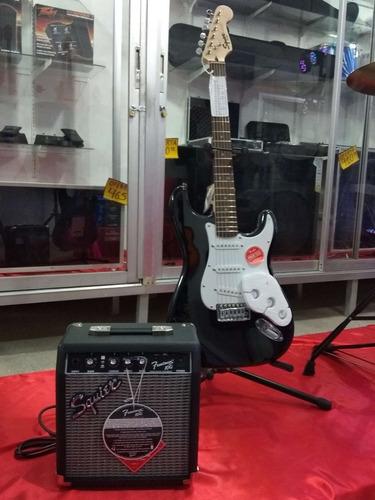 combo fender squier guitarra + amplificador