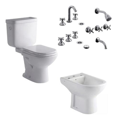 combo ferrum bari baño completo tapa juego newport fv cs4109