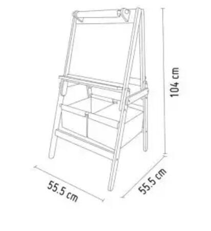 combo frozen pizarra baul organizador mesa y sillas envios