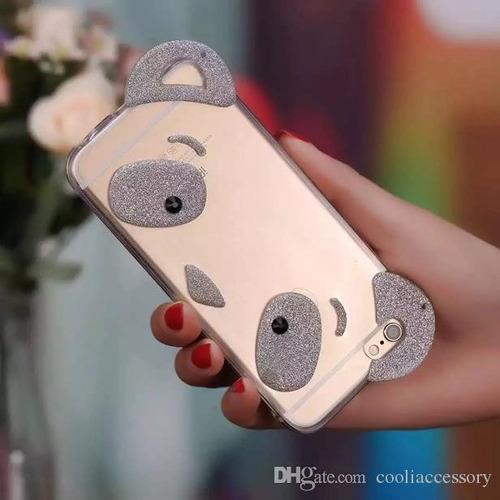 combo funda panda + film gorilla glass iphone 5 - polotecno