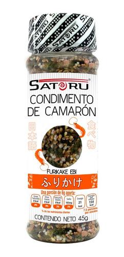 combo furikake camaron y salmon satoru