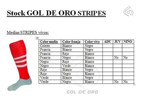 combo futbol- hockey: short + medias + canilleras gol de oro