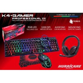 Combo Gamer Halion 4 En 1