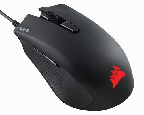combo gamer teclado corsair k55 español + mouse harpoon rgb