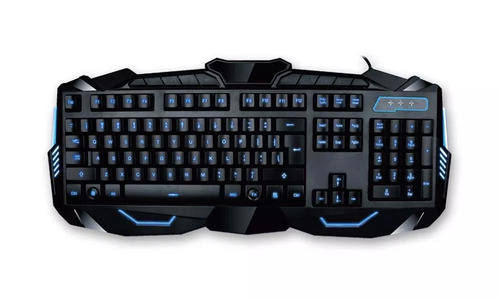 combo gamer teclado y mouse pc retroiluminado noga it2