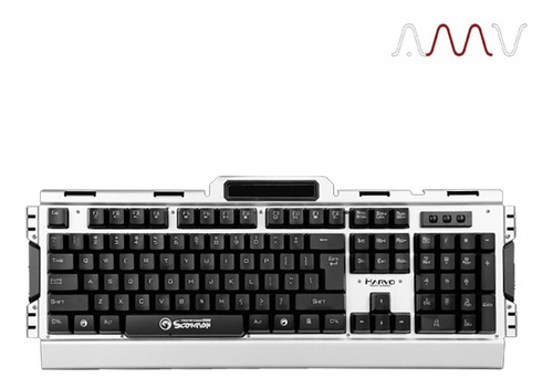 combo gaming marvo auricular + mouse + teclado cm303 amv