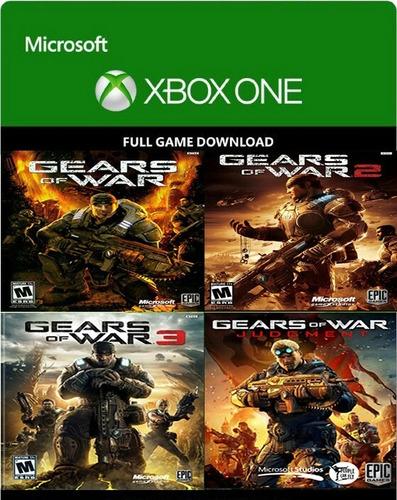 combo gears of war digital original para xbox one