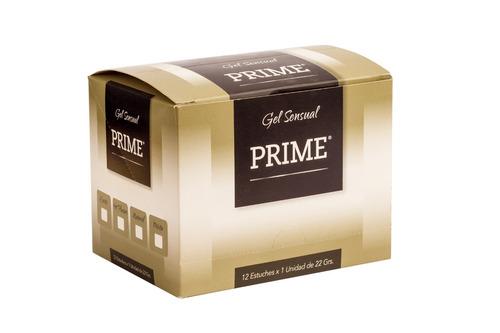 combo gel prime x12 hot pleasure lubricante femenino 22gr