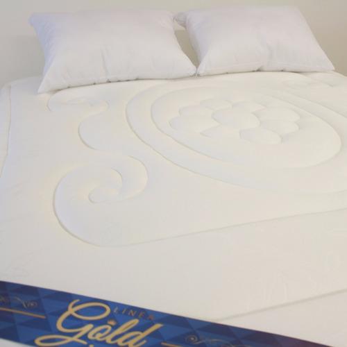 combo gold 160x190 colchón+basecama+obsequios