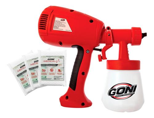 combo goni pistola eléctrica de presión +3 desinfectante ant