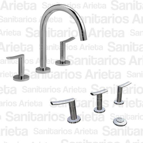 combo griferia baño hydros mind lavatorio + bidet cs2179