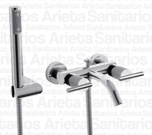 combo griferia fv libby lavatorio bide ducha + 428/39 cs1789