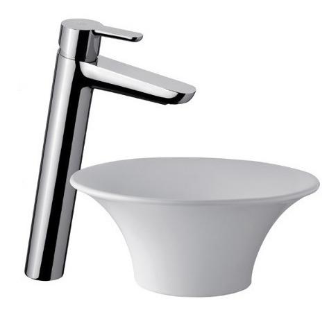 combo griferia fv puelo con lavatorio alto ceramisur