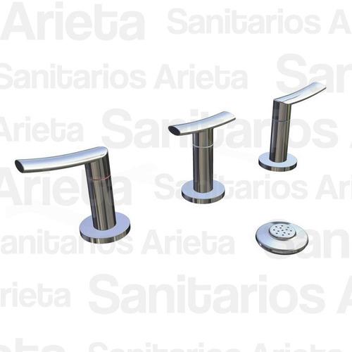 combo griferia hydros mind lavatorio bidet accesorios cs2183