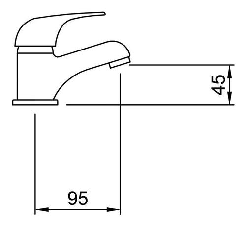 combo grifería peirano lugo lav bidet ducha + 5 accesorios