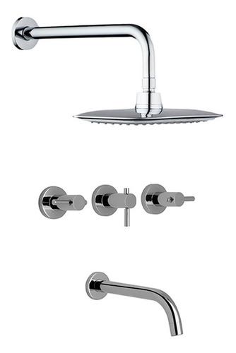 combo griferías hydros zen bidet ducha accesorios 5 baño