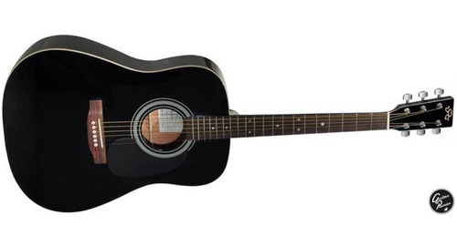 combo guitarra acustica sx afinador funda correa accesorios