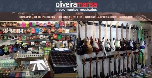 combo guitarra criolla gracia m1 + funda + afinador + puas