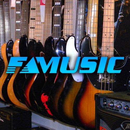 combo guitarra electrica + amplificador + funda y accesorios