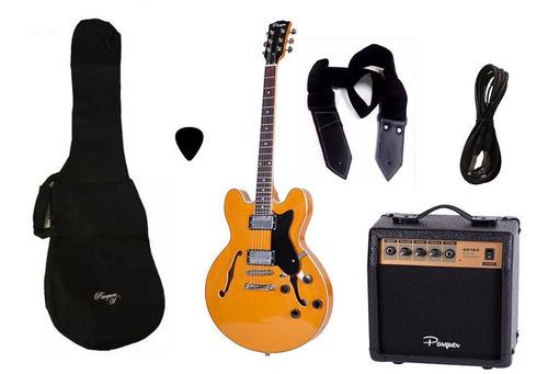 combo guitarra electrica parquer 335 ylw amplificador 10w