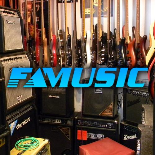 combo guitarra electrica racker lp + amplificador crimson
