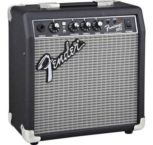 combo guitarra eléctrica squier + amplificador fender de 10w