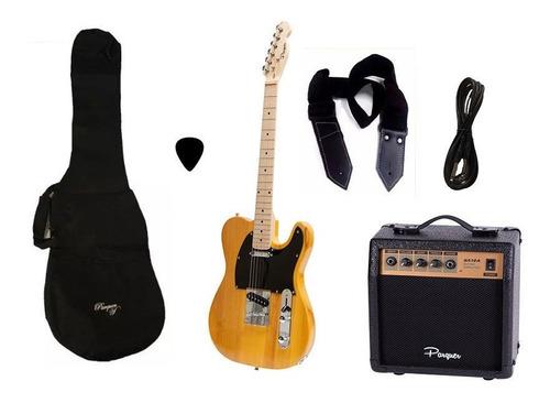 combo guitarra electrica tele richards parquer amplif cuota