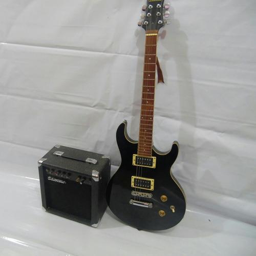 combo!!!! guitarra electrica y amplificador silvertone